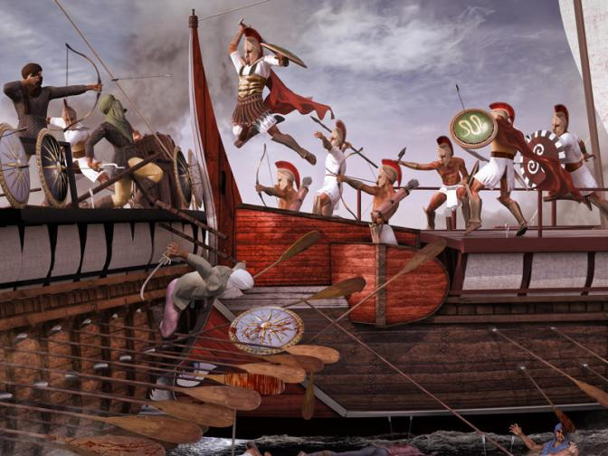 AH 11 – El poder naval de Grecia en el siglo V a.C.