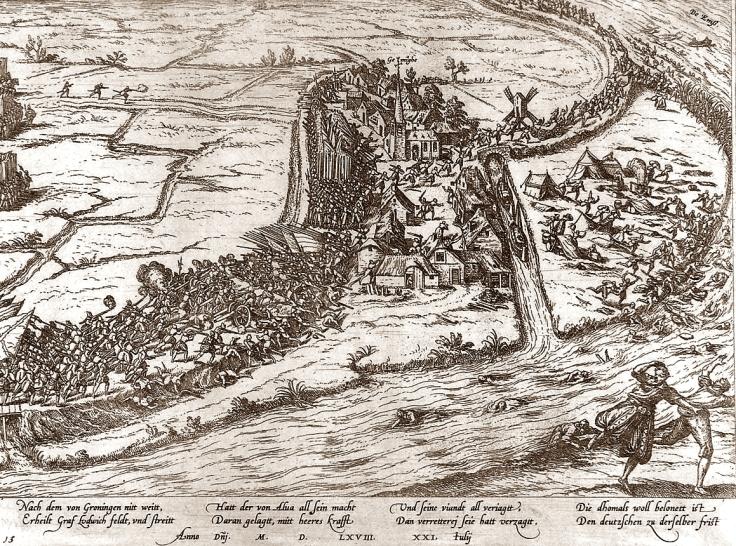 Slag_bij_Jemmingen_-_Schlacht_von_Jemgum_-_21_Juli_1568_(Frans_Hogenberg)