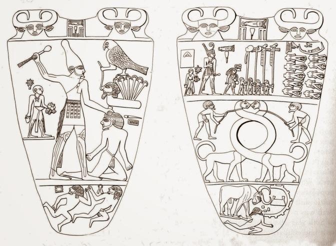 Narmer_Palette_sketch