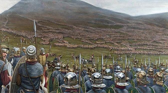 AH25 – Legiones romanas en Caledonia. Agrícola frente a Calgaco