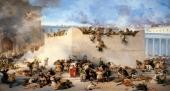 incendio-y-saqueo-del-templo-c3b3leo-por-francesco-hayez-1867
