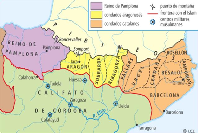 La Reconquista cap. 11 La Marca Hispánica y los condados catalanes ...