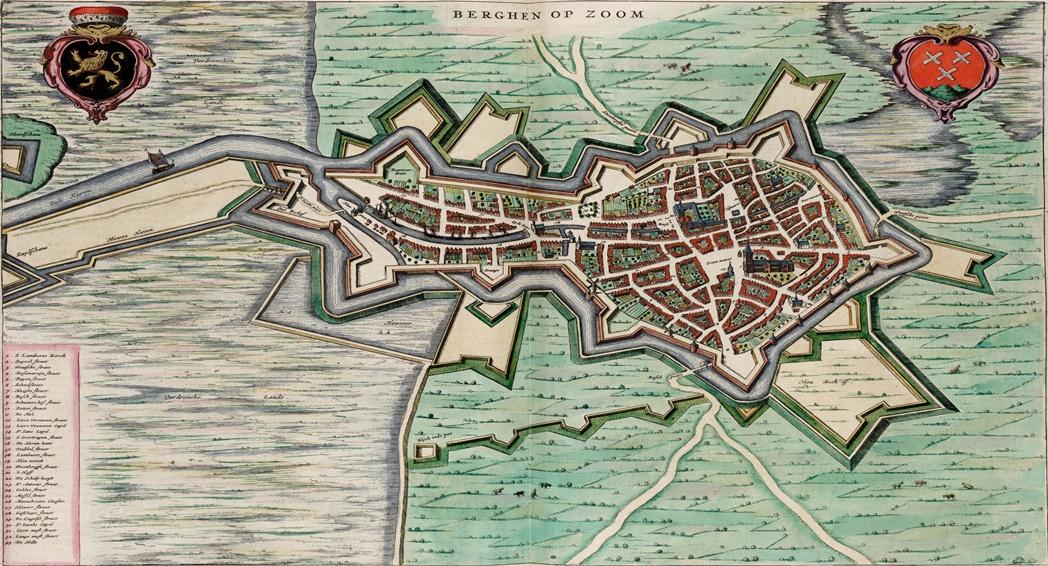 Map_of_Bergen_op_Zoom_(Blaeu)portada