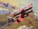 """¿Por qué pintó Manfred von Richtofen su avión de rojo """"chillón""""? – Relatos Históricos54"""